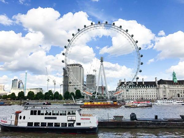 london eye london travel guide