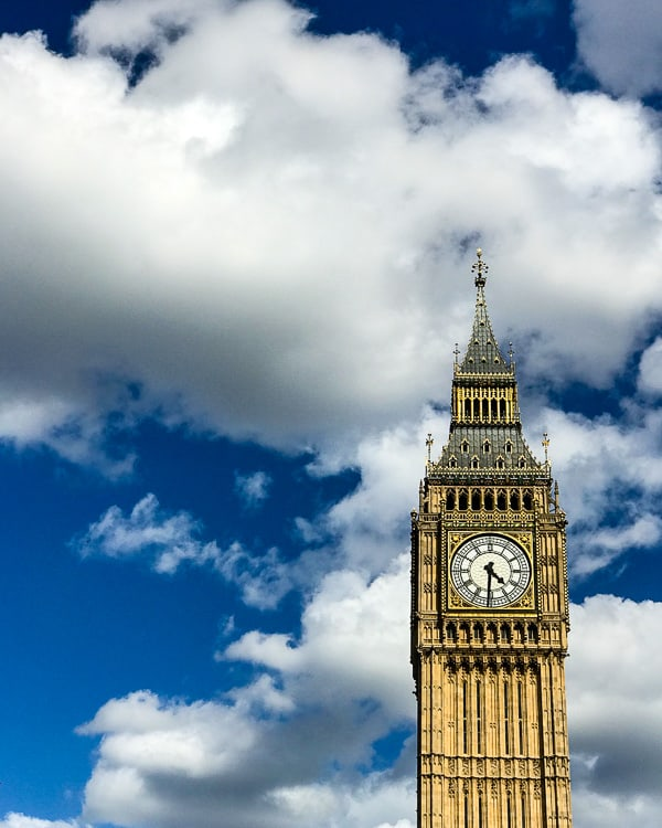 big ben london travel guide