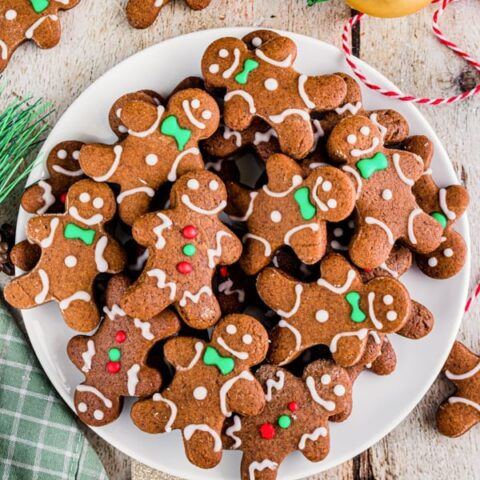 Soft Gingerbread Cutout Cookies