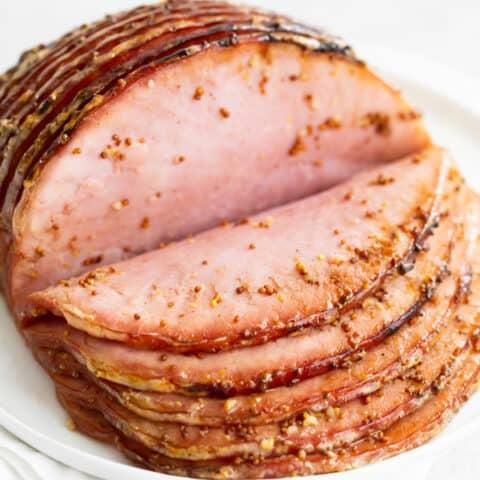 Honey Mustard Baked Ham