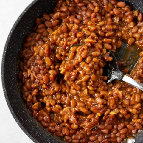 Easy Bacon Baked Beans
