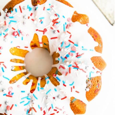 Fourth of July Bundt Cake