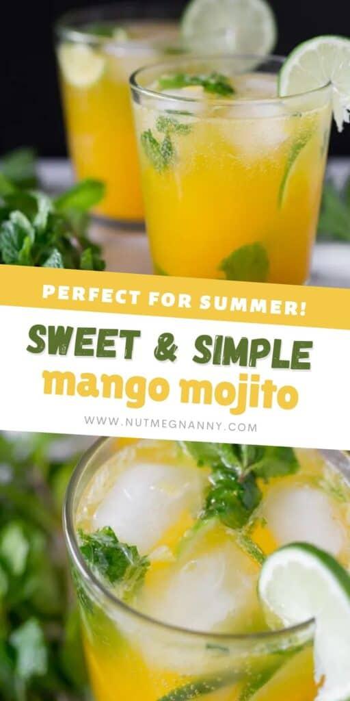 mango mojito pin for pinterest.