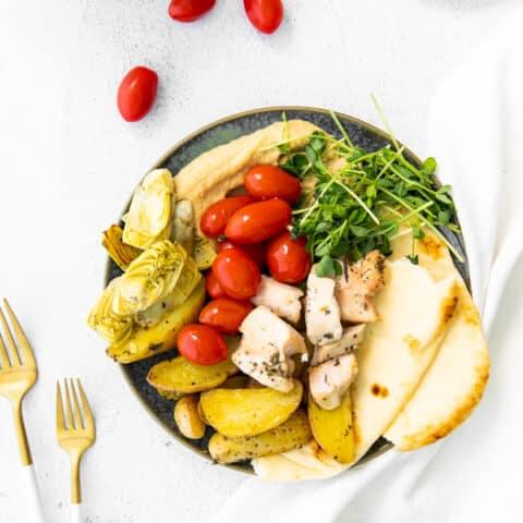 Sheet Pan Mediterranean Chicken